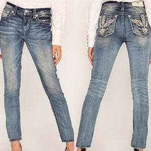 NWT Miss Me mid-rise easy skinny Jeans size 29